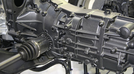 image of a car motor