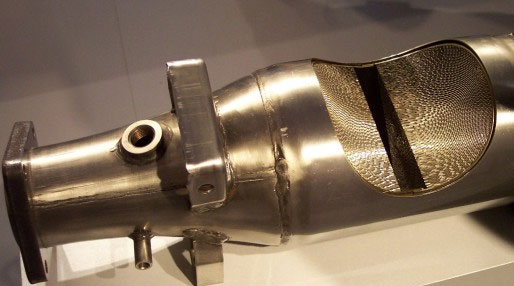 image of a catalytic converter