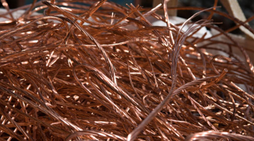 image of scrap copper
