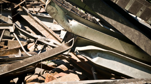 image of scrap metal