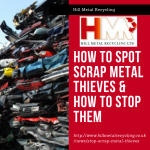 How to Spot Scrap Metal Thieves & How to Stop Them